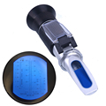 Auto car Handheld Antifreeze Liquid Coolant tester Battery Refractometer