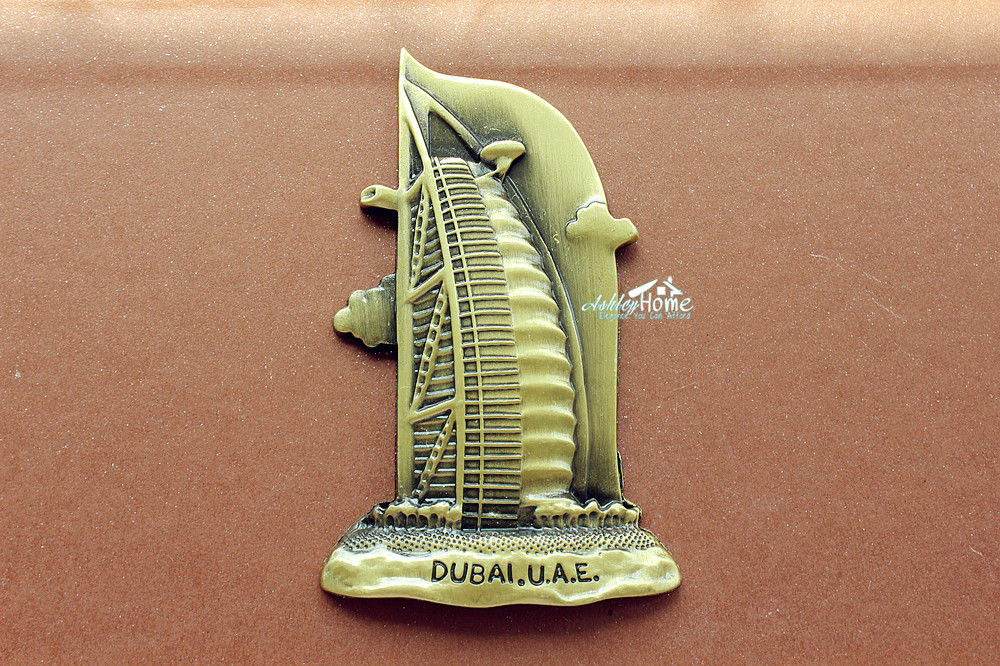 ОАЭ Дубай Burj Al Arab Hotel туристический Турист сувенир 3D металлический магнит на холодильник ...