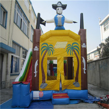Residential Bounce House Inflatable Combo Slide Bouncy Castle Jump Inflatable Bouncer YLW-bouncer 199