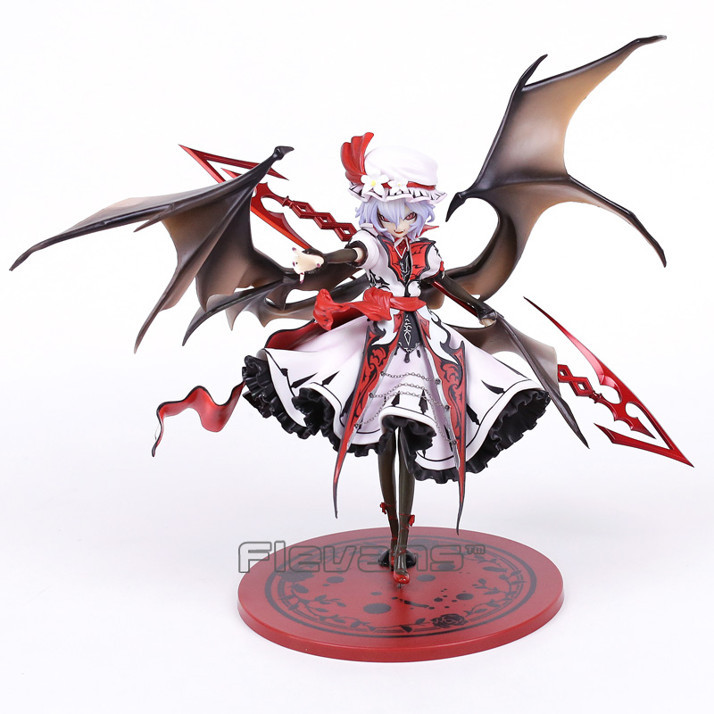 Anime Touhou Project Remilia Scarlet Koumajou Densetsu Ver 1 7 Scale Painted Figure Collectible Model Toy