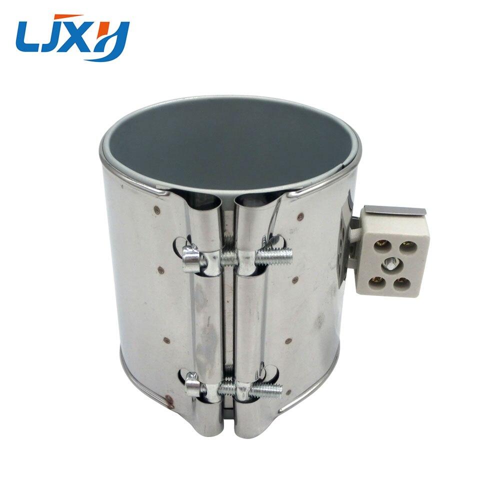 LJXH Acier Inoxydable Mica Bande Chauffe Électrique Industrail 220 V 95x60mm/40mm/45mm/50mm/55mm Puissance 500 W/370 W/420 W/460 W/330 W