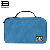 BAGSMART Travel Packing Organizer Waterproof Portable Man Toiletry Bag Women Cosmetic Organizer Pouch Hanging Wash Bags