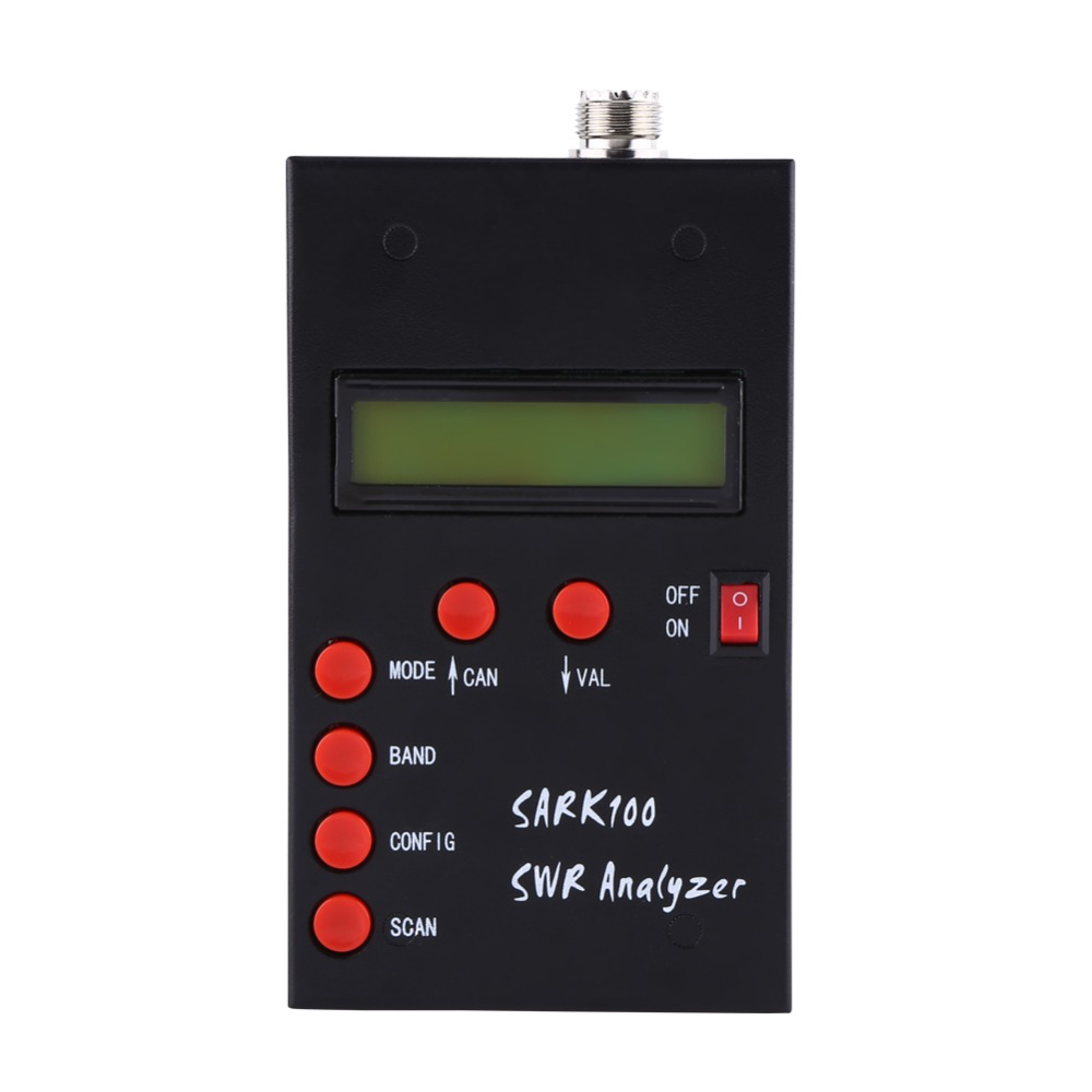 Frequency Meter 1 60MHz Shortwave SWR Antenna Analyzer Meter Tester Impedance Measuring Tools For Frequency MeHam