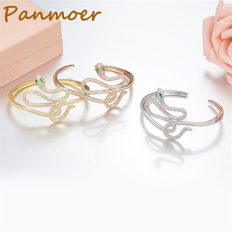 Brand 100% S925 Sterling Silver snake bracelet & bangles for women  fashion charms jewelry personality temperament Bracelet
