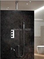 ซ่อนT Hermostaticห้องอาบน้ำฝักบัวชุดผสมกับ10