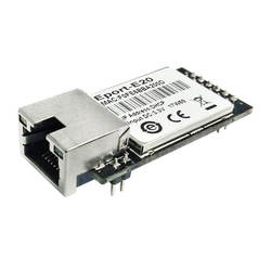 FreeRTOS сетевой сервер порт ttl серийный к Ethernet встроенный модуль DHCP 3,3 В TCP IP Telnet
