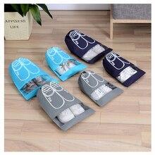 Fashionable Shoe Bag Drawstring Bag Beam Pull Cord  Bag Student Residence Multi-Functional Drawstring Bag