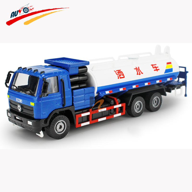 KDW Alloy 1:50 Green Sprinkler Truck Diecast Model Collection Car Toy