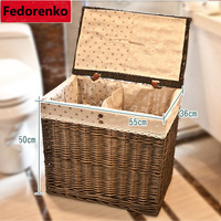 Laundry storage boxes for clothes organizer Multifunctional Storage Box organizador storage baskets wicker kids room bathroom
