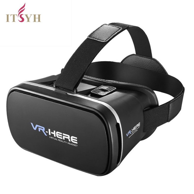 ITSYH 3D VR GLASSES FASHION Professional VR HERE Version Head-Mounted VR BOX 3D Glasses Virtual Reality 3D Video Glasses TW-408