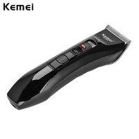 Kemei Hair Machine Professional Clipper Cordless Hair Trimmer Men Hair Cut Machine Cutting Men Haircut Stainless Steel Blade