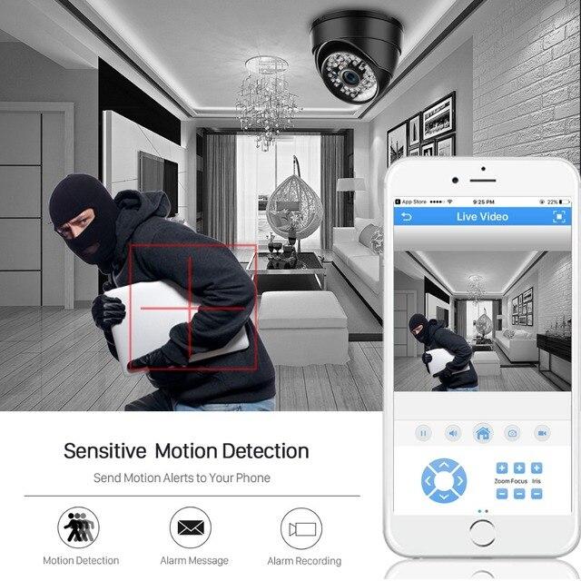 Onvif 3MP 2MP IP Camera 1080P Security Outdoor Surveillance Night vision 4