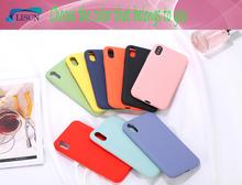 LISCN Original Solid Colour Silicone Phone Case for  Huawei P20 Pro Honor8X Mate 20 Soft Candy P10 9
