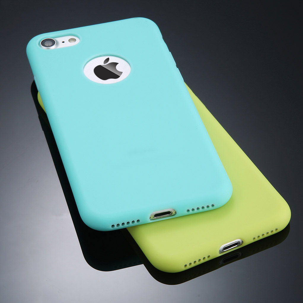 Candy Color Soft Silicon TPU Back Cover