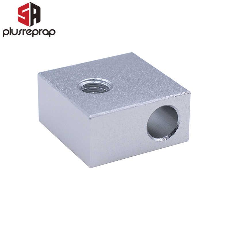 3D Printer Aksesoris Blok Pemanas MK7 MK8 Khusus Print Head MK8 Extruder Blok Aluminium