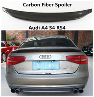 Carbon Fiber Spoiler For Audi A4 S4 RS4 2009 2019 High Quality Spoilers Auto Accessories By EMS|Spoilers & Wings|   -