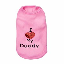 Mascot Vest DADDY Clothes