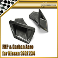 For Nissan 370Z Z34 Carbon Fiber Front Bumper Air Duct Set Car Styling In Stock