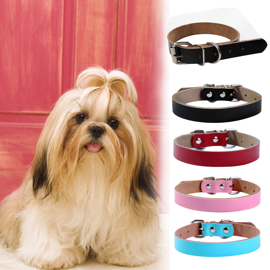 Cute Dog Collar Bow Leather Pet Collar Puppy Choker Cat Necklace Engraving Permanent Memory Personalized Pet Collar XS S M
