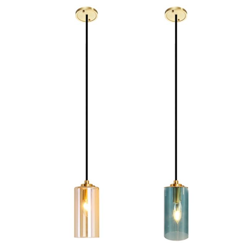 LukLoy Post Modern Luxury Glass Pendant Light Living Room