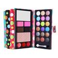 Multicolor Eyeshadow Natural Waterproof Make Up Blush Eyebrow Powder Eye Shadow Makeup Palette PU Cosmetic Beauty Accessories