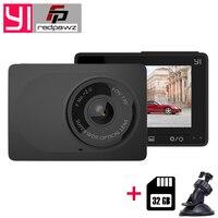 Original Xiaomi YI Compact Dash Camera 1080p Full HD Car Dashboard Camera with 2.7 inch LCD Screen 130 WDR Lens G Sensor Night