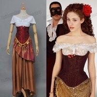 The Phantom of the Opera Christine Daae Dress Cosplay Costumes