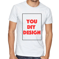 Customized T Shirt Print Your Own Design DIY Photo Text Logo High Quality Team Company Tops