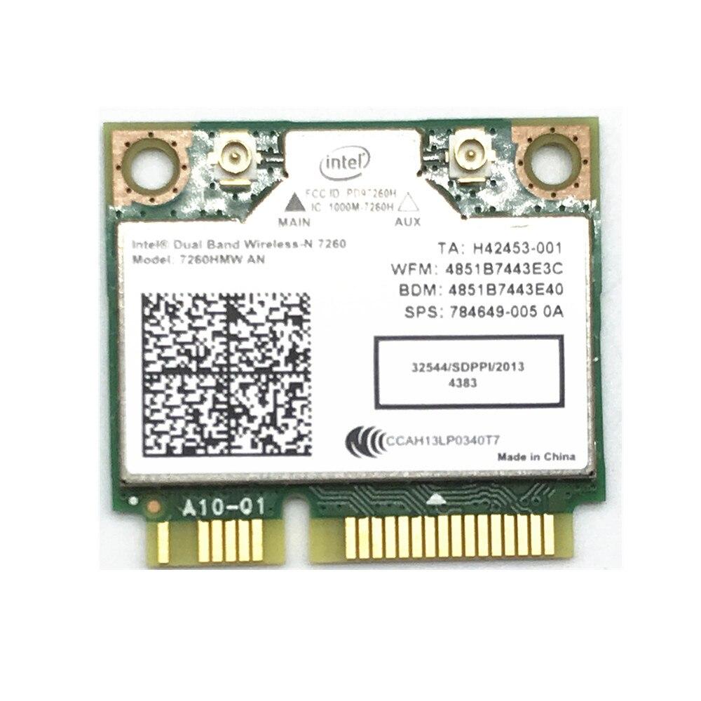 De doble banda Wireless N 7260 hmwan un Intel 7260 7260HMW WiFi Bluetooth 4.0 tarjeta para el ordenador portátil