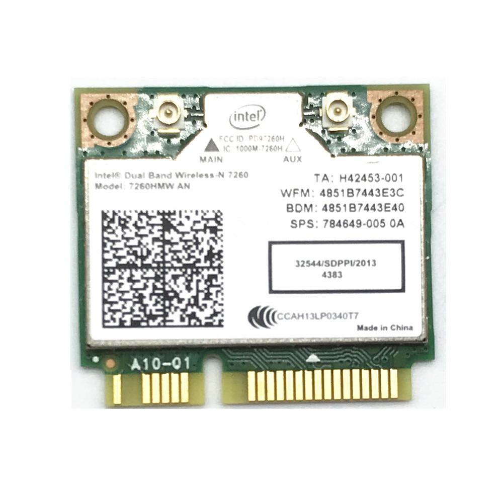 For Dual Band Wireless N 7260HMWAN AN Intel 7260 7260HMW Wifi Bluetooth 4.0 Card For Laptop