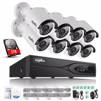 ANNKE 1080P 8CH HDMI NVR PoE Kit IP Network Outdoor CCTV Security Camera System