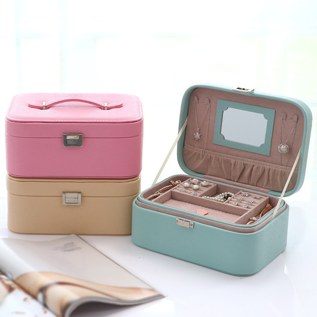 Aliexpresscom Buy Jewelry box jewelry container with mirror large