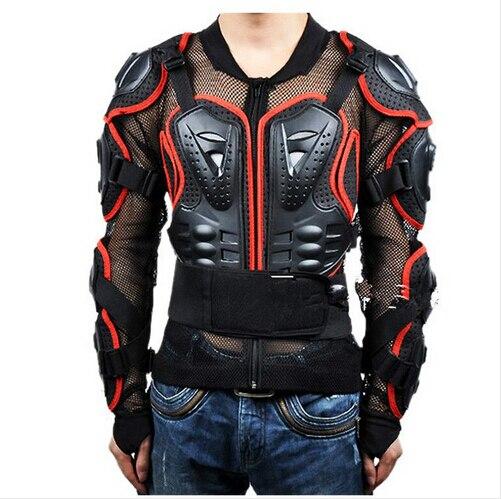 Livraison gratuite Moto armure Protection Motocross veste protecteur Moto Cross poitrine dos protecteur équipement de Protection deux couleurs