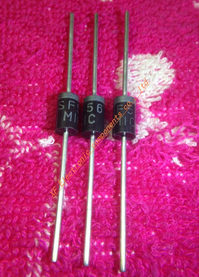 Lot of 10 3a 3 Amp Polarized Rectifying Rectifier Diodes