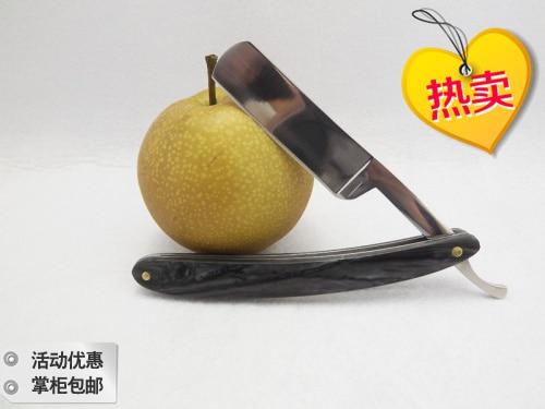 ФОТО free shipping Hot benevolence old fashioned razor shaving razor black plastic handle 2015