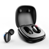 """ממ עבור Bluetooth 5.0 אוזניות אלחוטיות אוזניות סטריאו עבור טלפון True Wireless Mini אוזניות HIFI 6 מ""""מ דינמי יחיד עם טעינת תיבה (1)"""