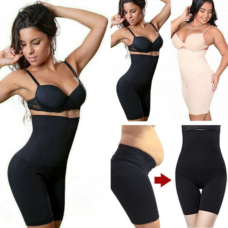 Hirigin Yoga Body Building Shorts Plus Size Women Slim Control Panties High Wasit Women Body Shapers Fajas 2019 Waist Trainer