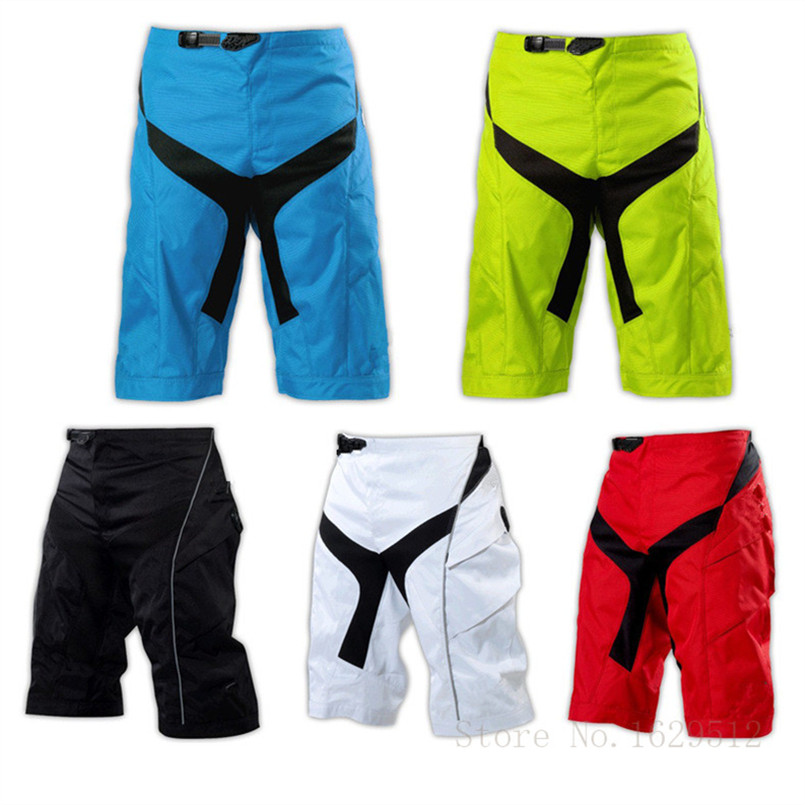 Hard Wearing MTB DH Downhill Motocross Shorts ATV MX Sprint Bike Off-Road Sport Short Pants Moto Racer Protective Shorts