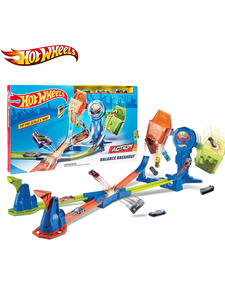 Kids Toy Balance-Breakout-Set Hot-Wheels Double-Track Car-Track-Toys Racing-Car Children