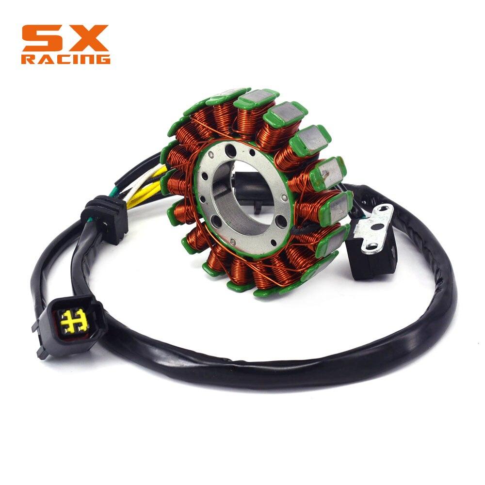 Motorbike Magneto Engine Stator Coil Generator Charging Flywheel For SUZUKI DRZ250 DRZ400 DRZ400E KAWASAKI KLX400 KLX400R