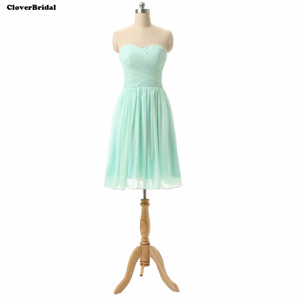 Grace Karin Charming Mint Green Bridesmaid Dresses Knee Length ...