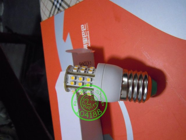 Free shipping led bulb ,saving light E27 led bulb warm white or cool white 48leds 220-240V 360 degree G4-G9 SMD New arrive!