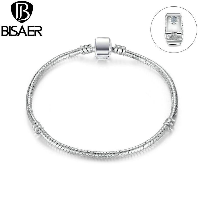 BISAER висококачествен едро сребърен - Модни бижута - Снимка 2