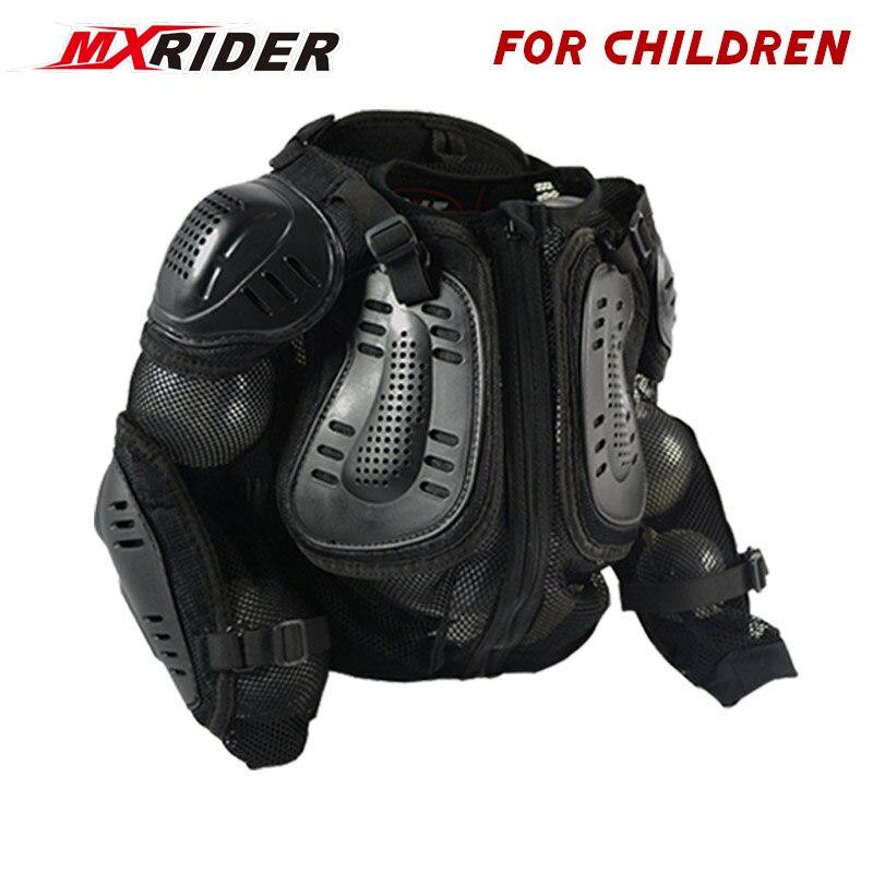 Moto corps protecteur Motocross course plein enfants corps armure protecteur moto vestes pour enfants