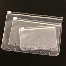 Card-Holder Envelope Rings Binder Refill Notebook Document-Organiser Storage Zipper-Insert