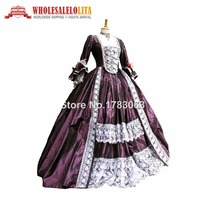 Top Sale Renaissance Wench Gothic Princess Dress Ball Gown Vampire Theatre Halloween Costume