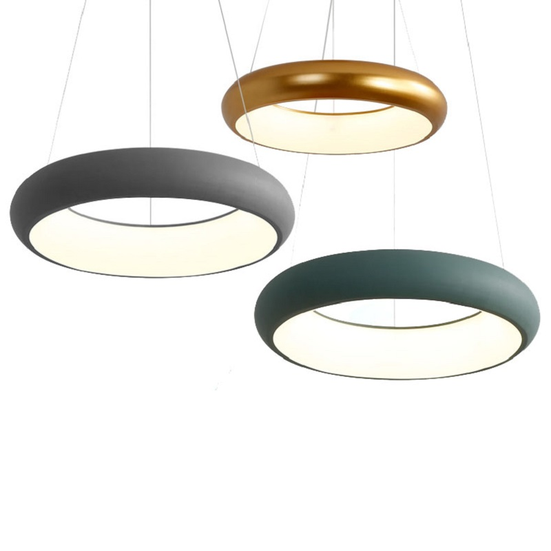 Us 114 0 25 Off Black White Green Grey Kitchen Room Modern Led Pendant Lights For Dinning Bar Living Hanging Lamp Fixtures In