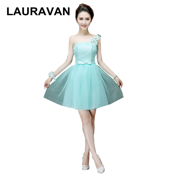 special occasion  mint bridesmaid pageant dresses women elegant bride dress lace tulle short 2020 new ball gowns