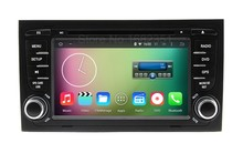 Quad core HD 1024*600 Android 5.1 Car DVD Radio Player GPS for Audi A4 2002 – 2007 S4 RS4 Seat Exeo with WiFi BT