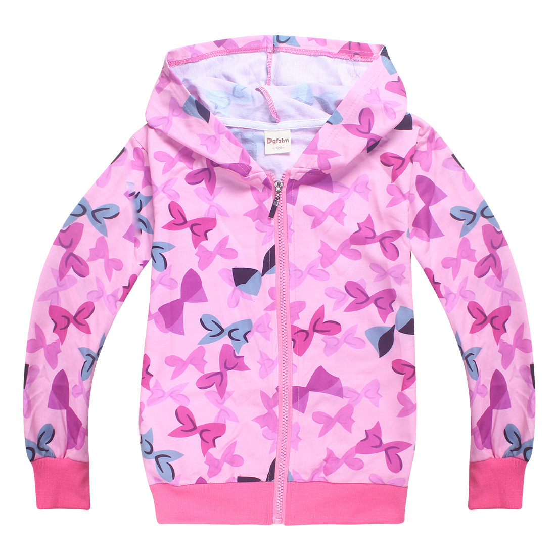 Spring and Autumn of 2018 4-12 years old Childrens Wear Jacket Girls Zipper Shirt kids jacket girls coat